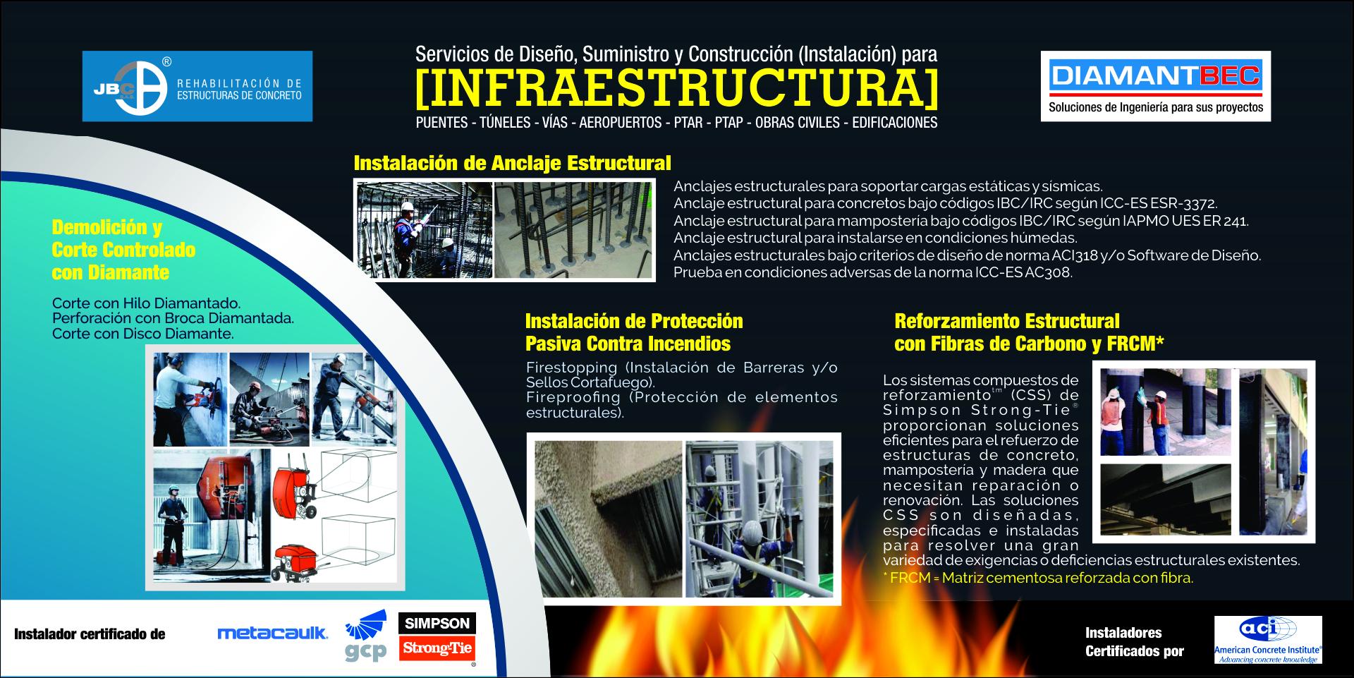 Expertos en Rehabilitación de Estructuras de Concreto